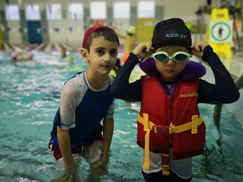 École de natation