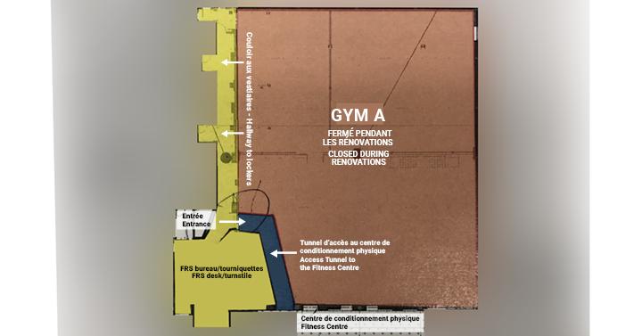 Renovations Gym A
